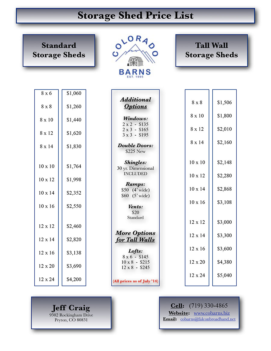 Storage-Shed-Price-List-(July-'14)(image)